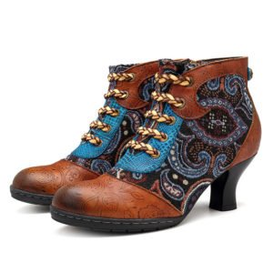 60% Off Socofy Bohemian Boots and Shoes