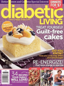 Free subscription to Diabetic Living Magazine