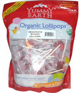 Yummy Earth Lollipops