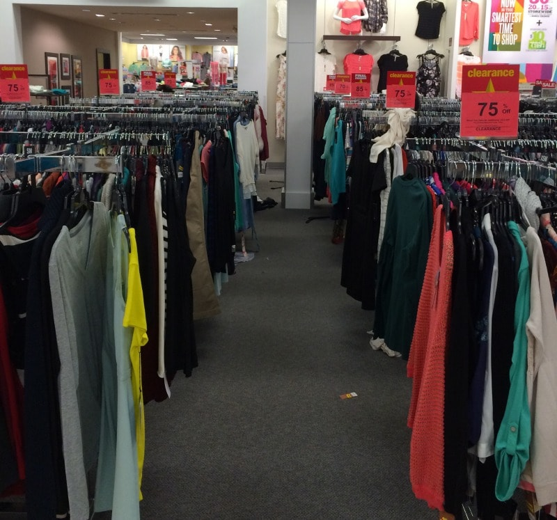 kohls clearance sales