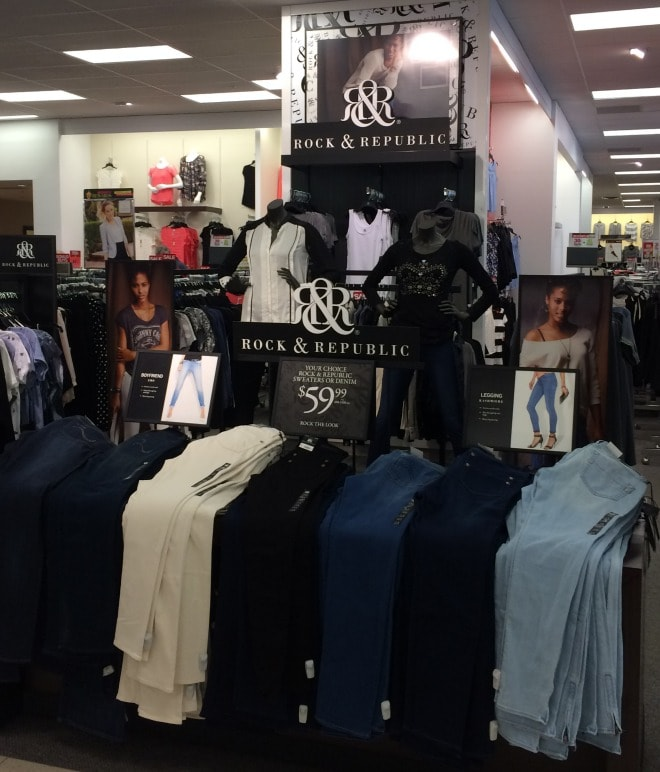 kohls rock & republic line