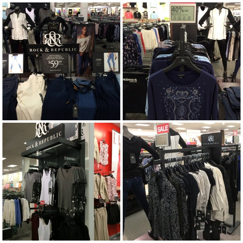 Rock & Republic Clothing Line
