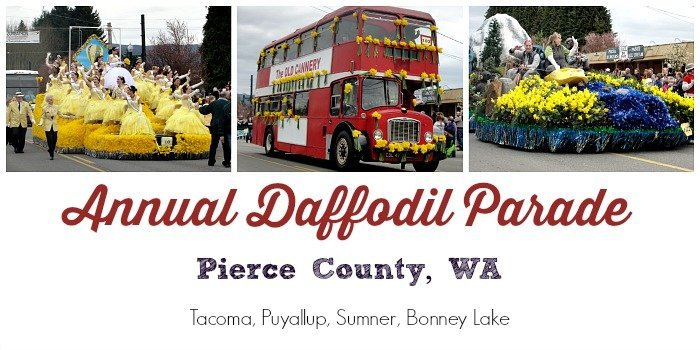 Daffodil Parade in Pierce County