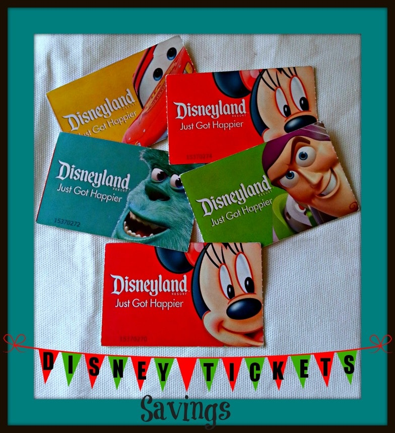 Disneyland Ticket Discounts