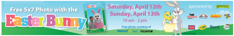 Free Photo With The Easter Bunny This Weekend!