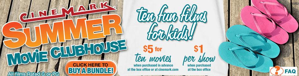 Cinemark Summer Movies