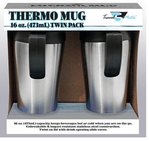 Travel Thermos Mug Set