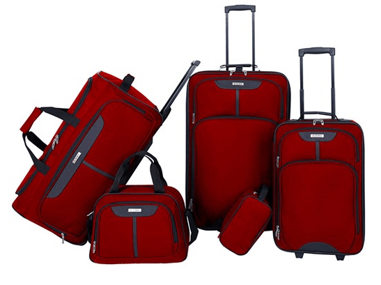 5 Piece Luggage Set Sale