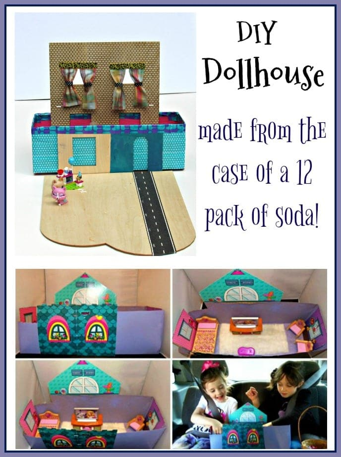 DIY Dollhouse That Fits In Your Kids Lap (Road Trip Ready)!
