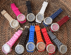 Chevron watches