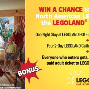 Legoland Hotel Giveaway