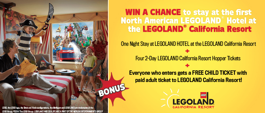 Win Stay at Legoland