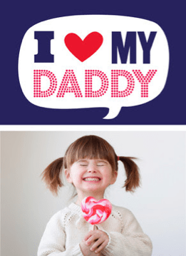 personalized  fathers day cards