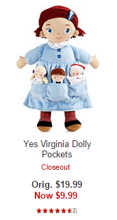 Yes Virginia Dolly Pockets