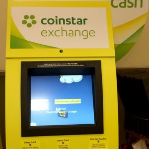 Earn cash for gift cards from Coinstar Exchange