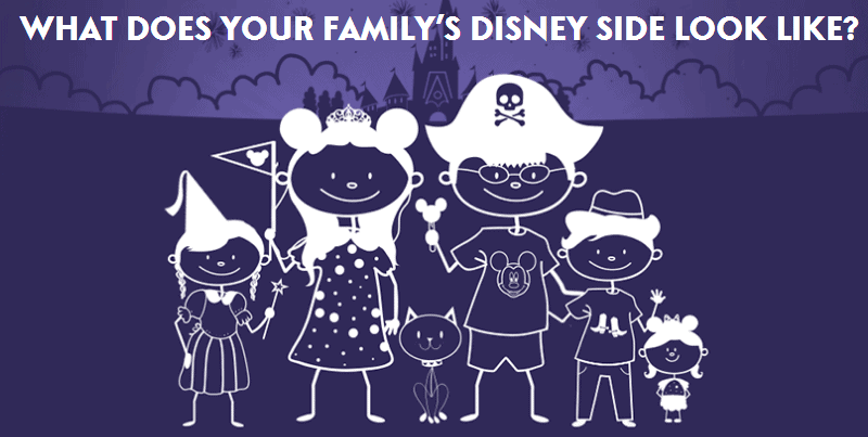 Free Disney Stick Figure Family Decal (Personalize It)!