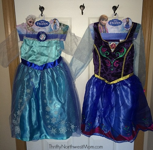 Frozen Dress Up Dresses
