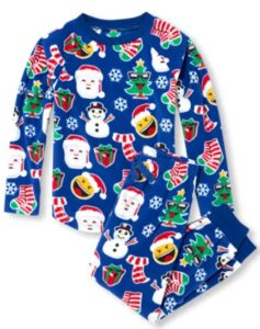 Unisex Kids Matching Family Long Sleeve Christmas Emoji Top And Pants  Fleece PJ Set Sale price is  8.48 (reg.  16.95) db13262b4