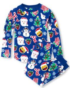 Unisex Kids Matching Family Long Sleeve Christmas Emoji Top And Pants  Fleece PJ Set Sale price is  8.48 (reg.  16.95) c663cc2c9
