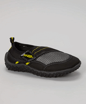 Black & Dark Gray Water Shoe