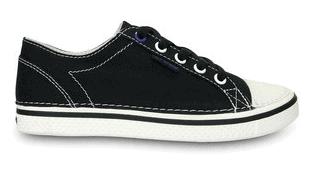 Black & White Deco Canvas Sneaker