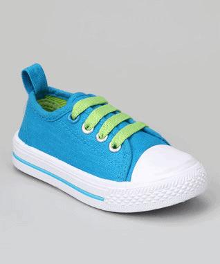 Blue & Green Sneaker