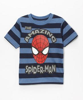 Blue Stripe 'The Amazing Spider-Man' Tee - Toddler