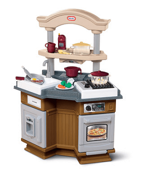 Brown Sizzle 'N Pop Kitchen Set