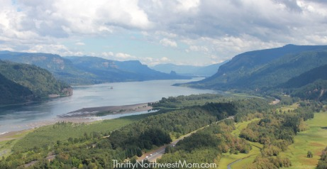 Columbia Gorge View from Vista House