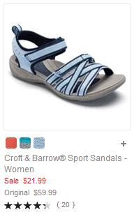 Croft & Barrow Sport Sandals - Women