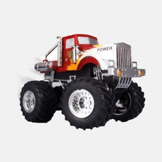 Dexim RC Monster Truck for iPhone - Red