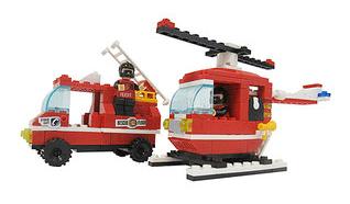 Firefighter Action Block Set