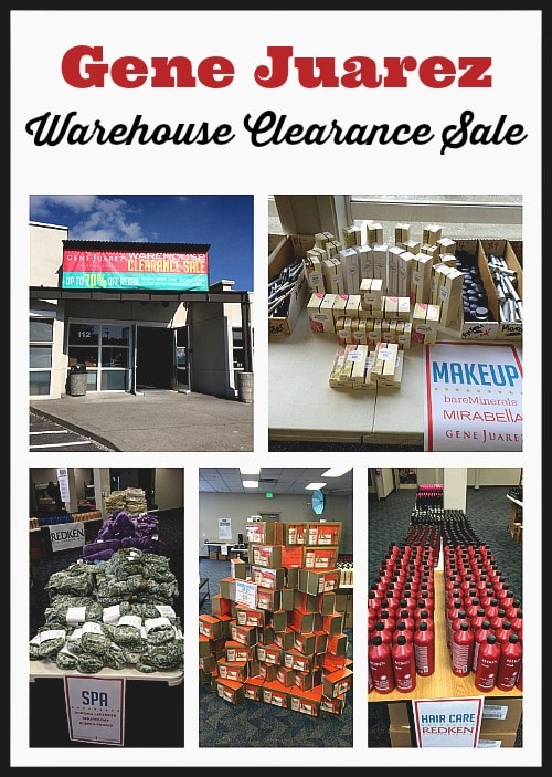 Gene Juarez Warehouse Clearance Sale