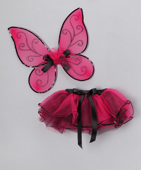 Hot Pink Tutu & Wings