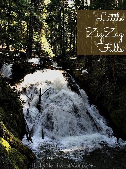 Little ZigZag Falls Mt Hood