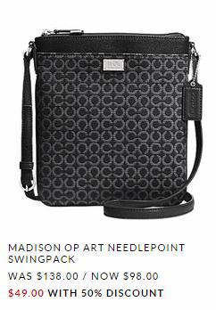 Madison Coach Bag