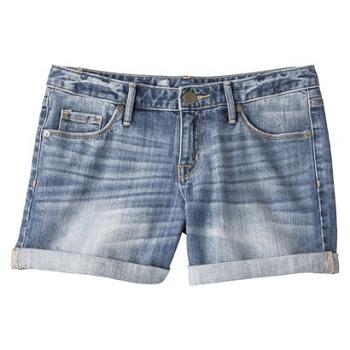 Mossim Women's 5  Rolled Hem Shorts - Medium Wash