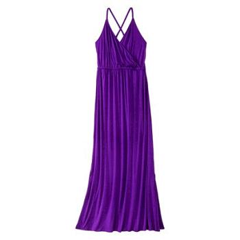 Mossimo Womens Crisscross Maxi Dress - Assorted Colors