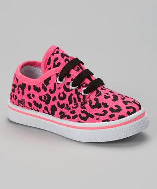 Pink Neon Leopard Sneaker