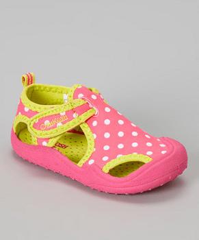 Pink & Yellow Caspain Sandal