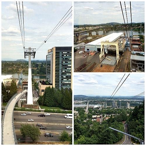 Portland Aerial Tram Views
