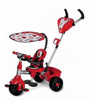 Red 3-in-1 Deluxe Trike