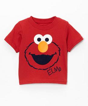 Red Elmo Tee - Infant & Toddler