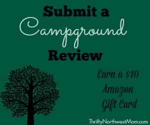 Submit Campground Review Earn Amazon Gift Card