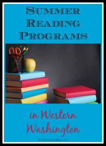 Summer Reading Programs in Western Washington