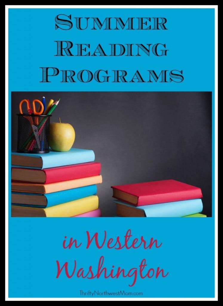 Summer Reading Programs in Western Washington