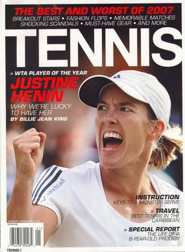 Tennis Magazine – $4.50 For One Year Subscription Today