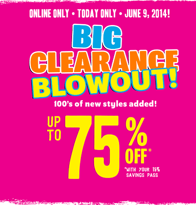 Kids Clothing Sale At The Children's Place up to 75% OFF!
