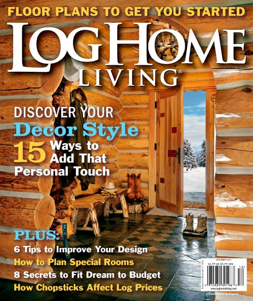 Log Home Living Magazine – $4.50 for One Year Subscription (Today Only)!