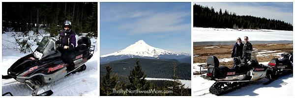 Mt Hood Snowmobiling